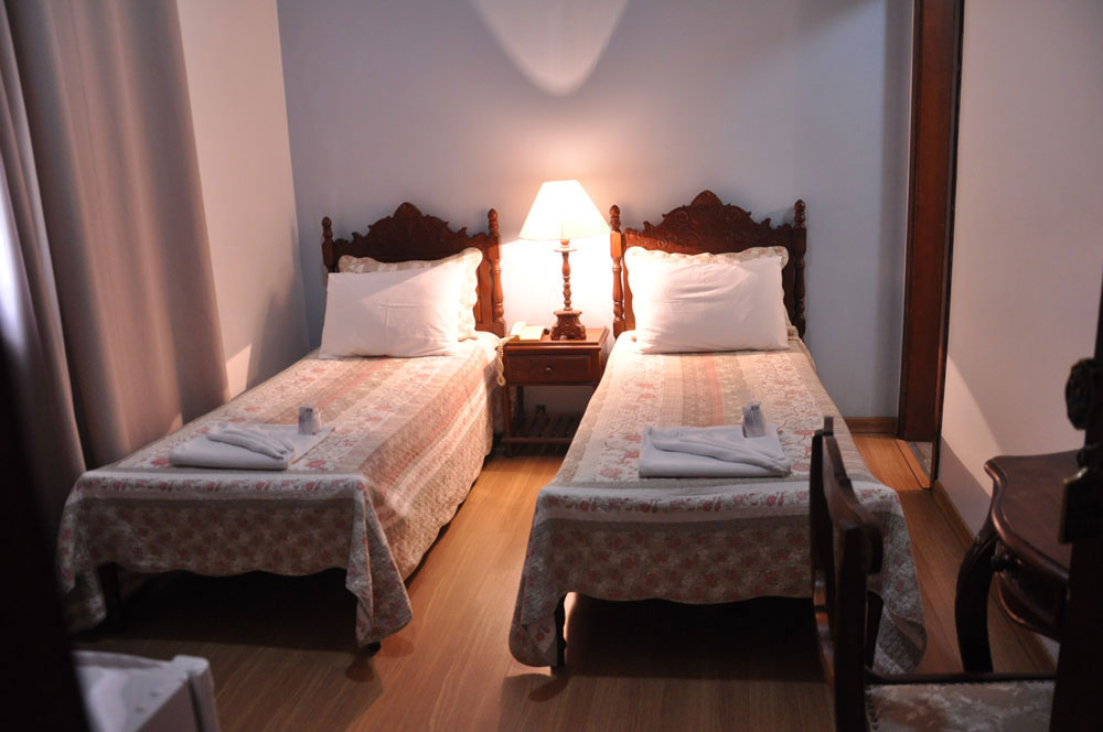 Apartamento duplo solteiro standard