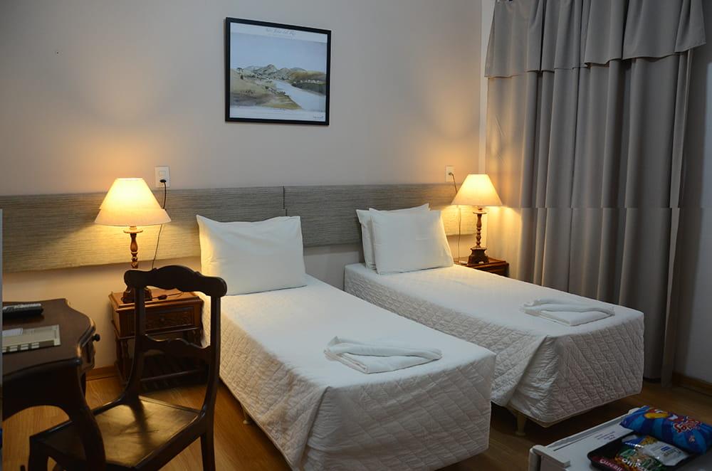 Apartamento duplo solteiro superior